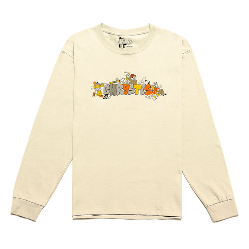 NYC Workers long sleeve shirt_Natural