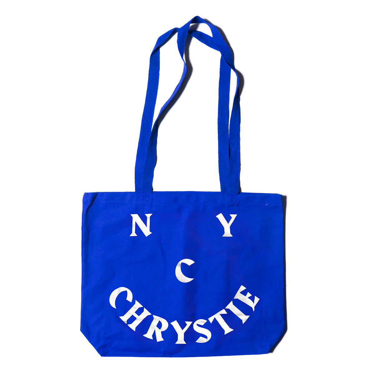 Load image into Gallery viewer, Chrystie Smile Logo Totebags