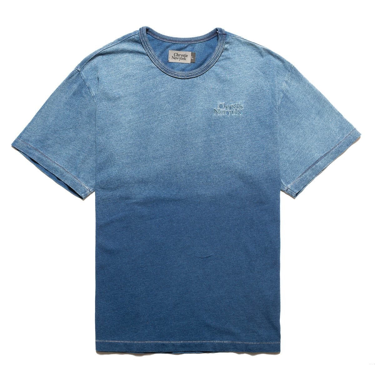 Load image into Gallery viewer, Indigo dye Classic logo T-shirt