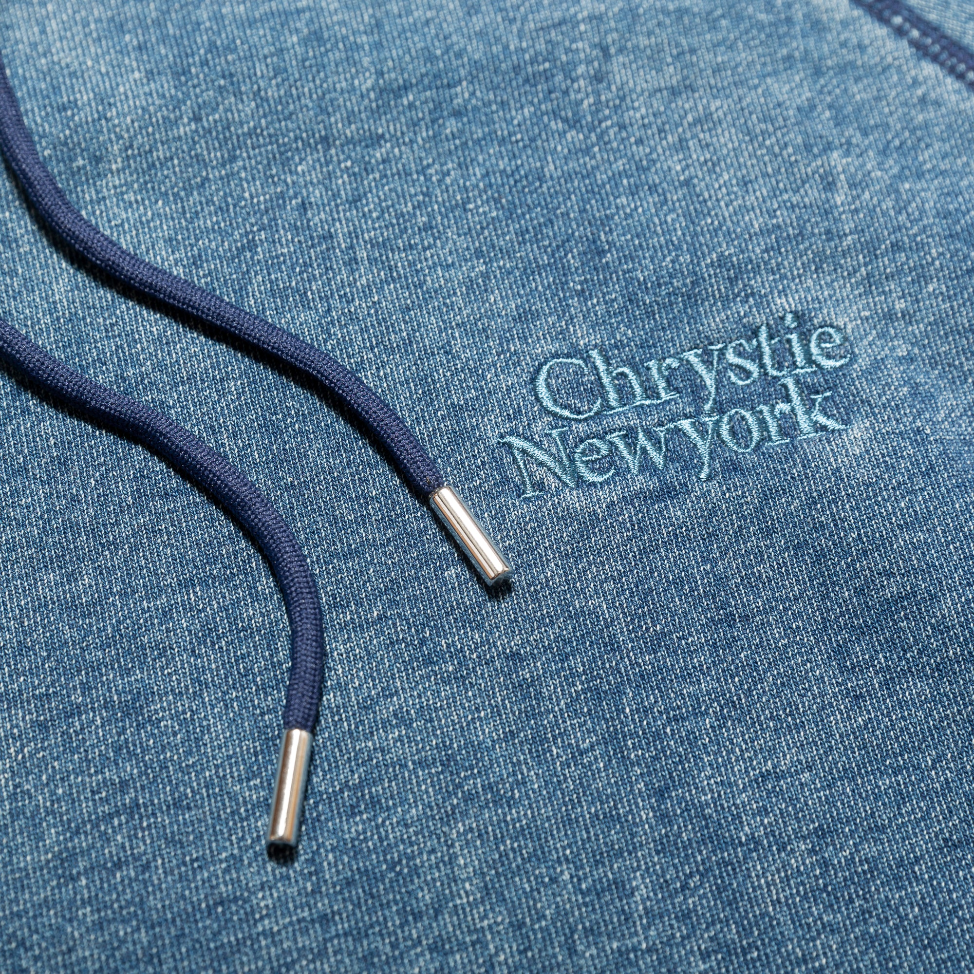 Load image into Gallery viewer, Indigo dye Classic logo pullover sweater