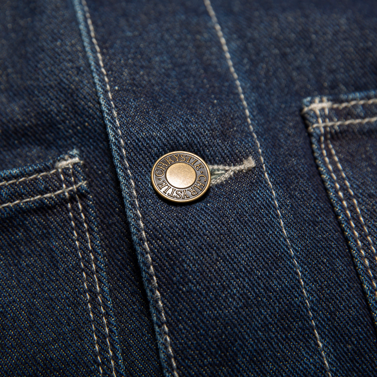 Load image into Gallery viewer, Raw denim shirt jacket