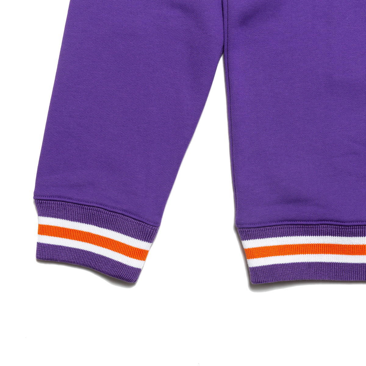 Load image into Gallery viewer, Varsity logo crewneck sweater_Purple
