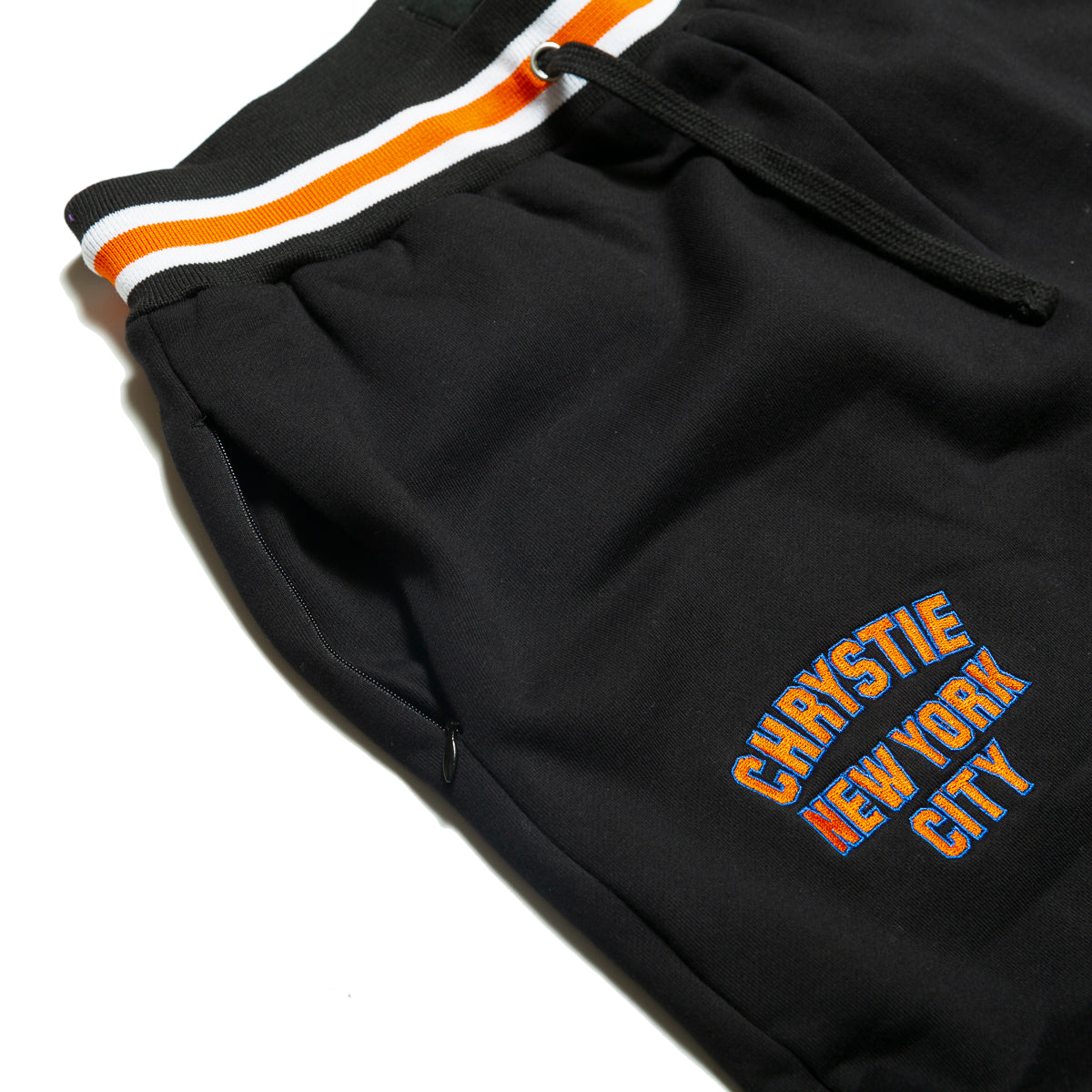 Load image into Gallery viewer, Varsity logo sweatpants_Black