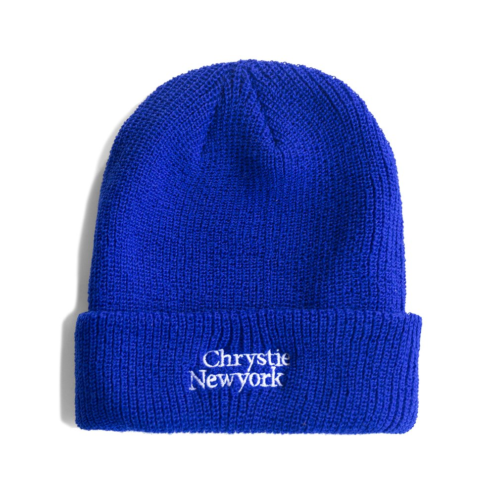 Load image into Gallery viewer, Chrystie Classic Logo Beanie