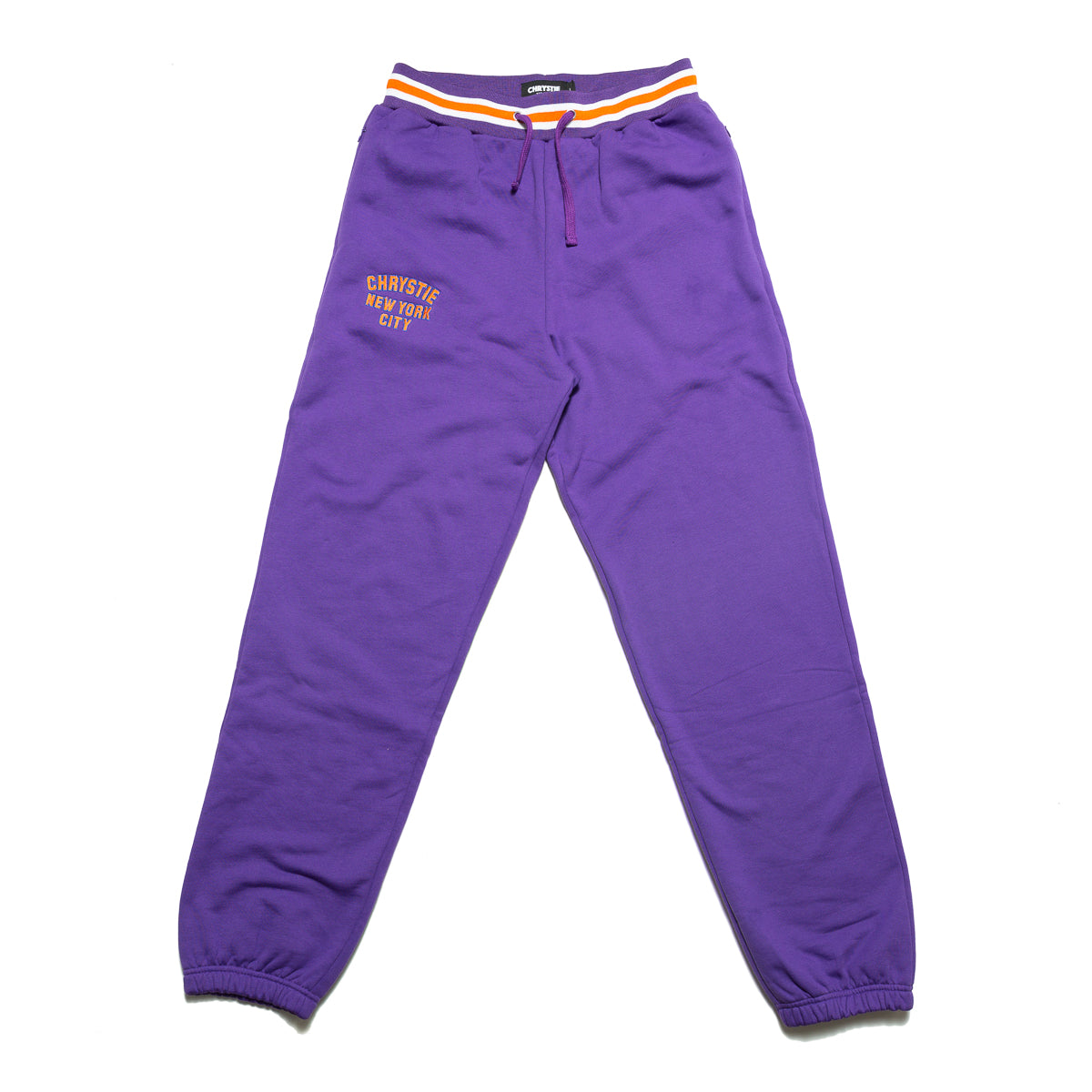 Load image into Gallery viewer, Varsity logo sweatpants_Purple