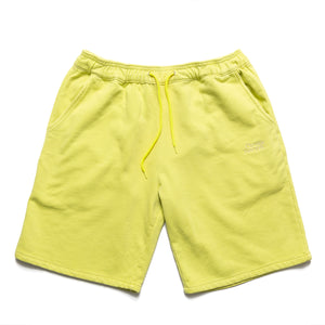 Garment dye Classic logo French Terry sweatshorts_Apple Green