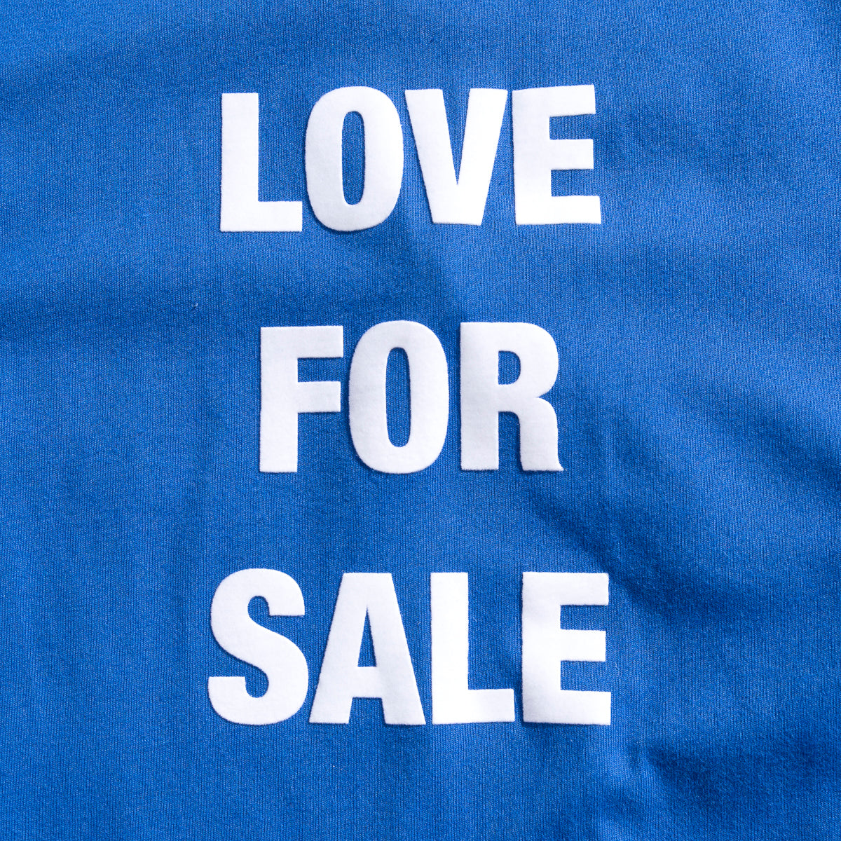 Load image into Gallery viewer, Love For Sale ringer T-shirts_White