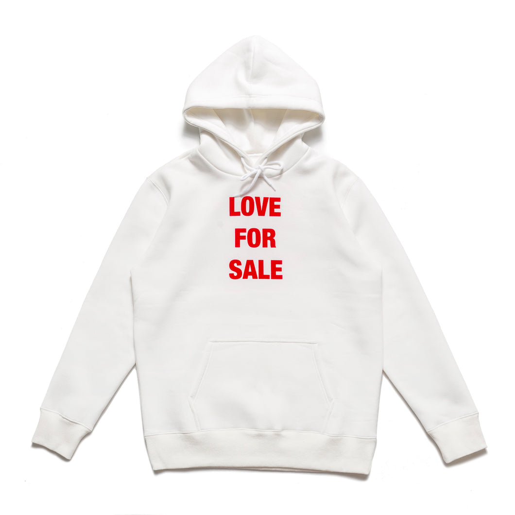 Love For Sale pullover sweaters_White