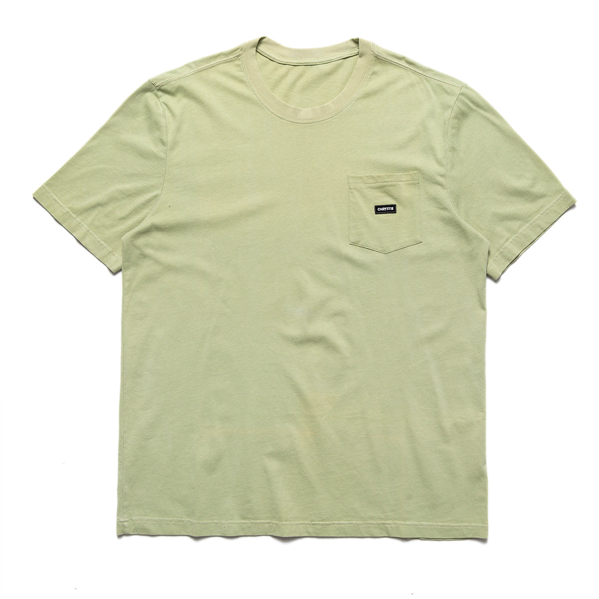 Load image into Gallery viewer, Small patch pocket T-shirt_Weed Green