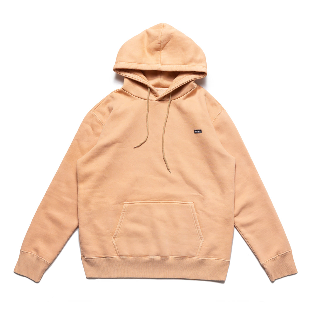 Small OG patch logo Hoodie_Peach