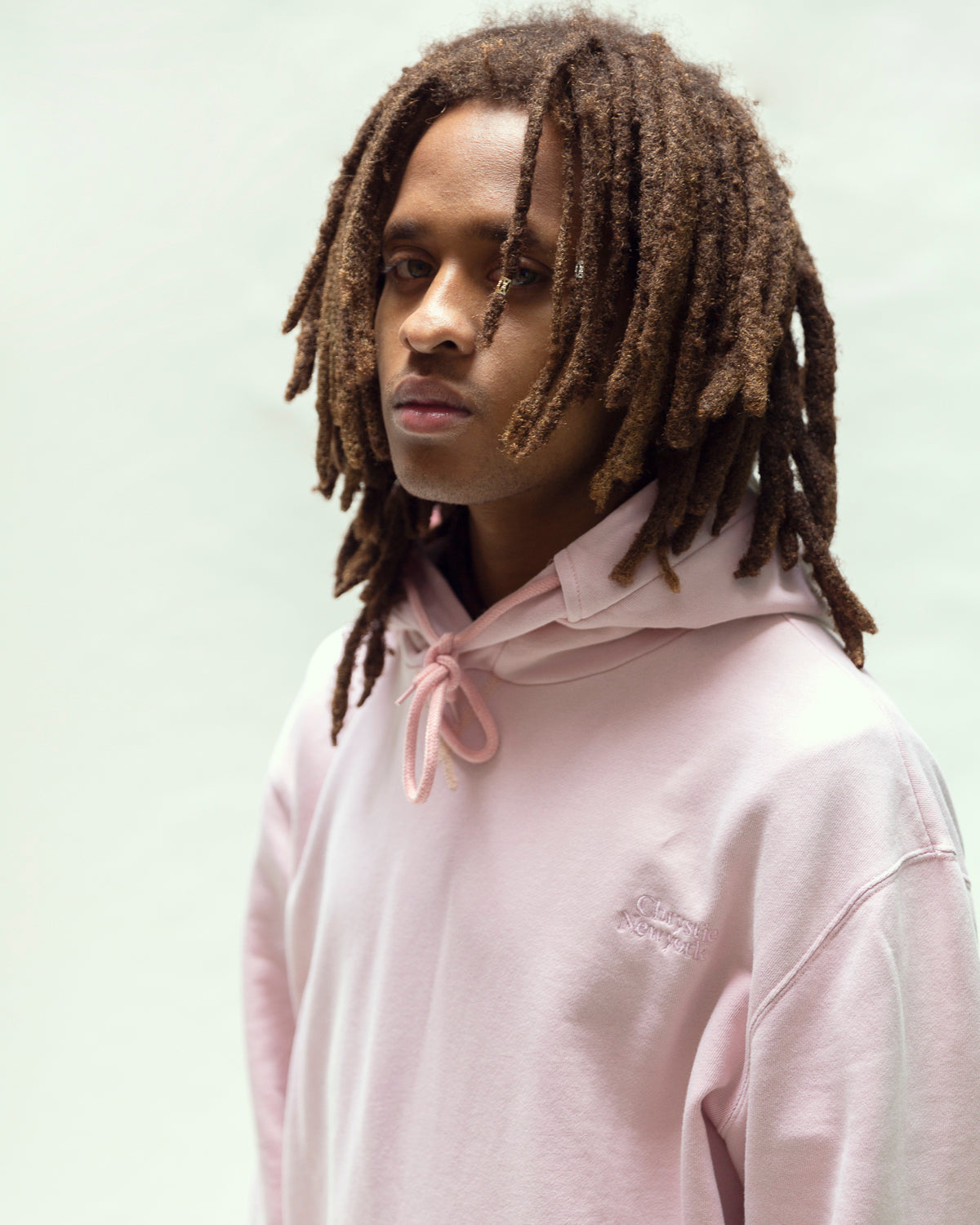Load image into Gallery viewer, Garment dye Classic logo pullover_Pale Pink
