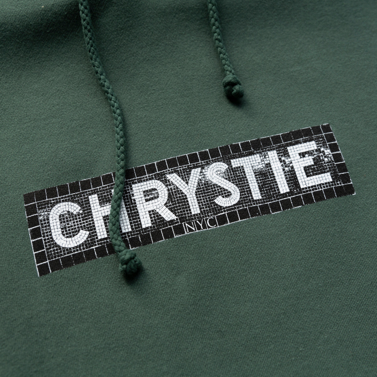 Load image into Gallery viewer, Station logo hoodie_Alpine green