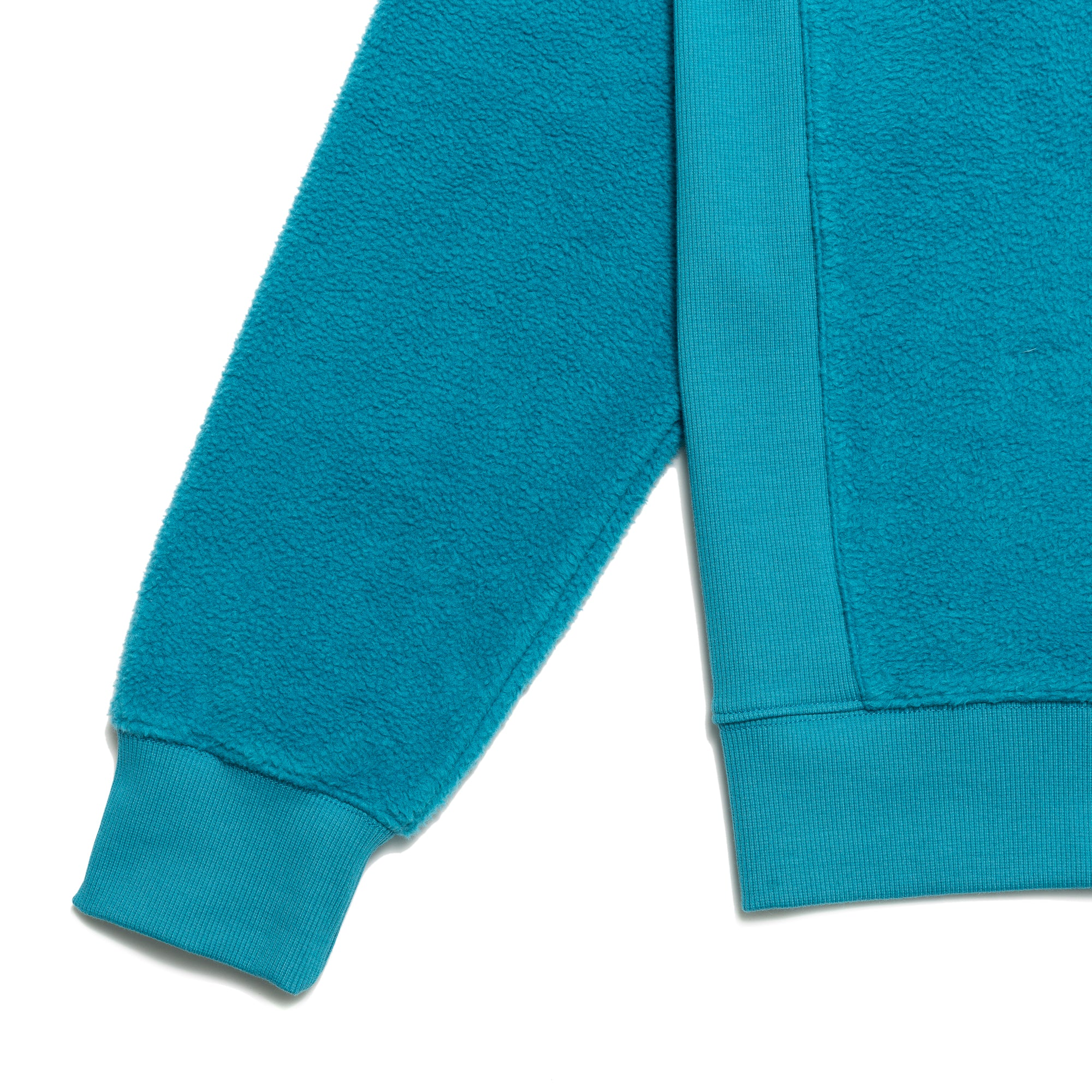 Load image into Gallery viewer, PRM Reversed Fleece Crewneck / Teal Green