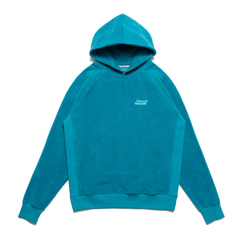 PRM Reversed Fleece Hoodie / Teal Green