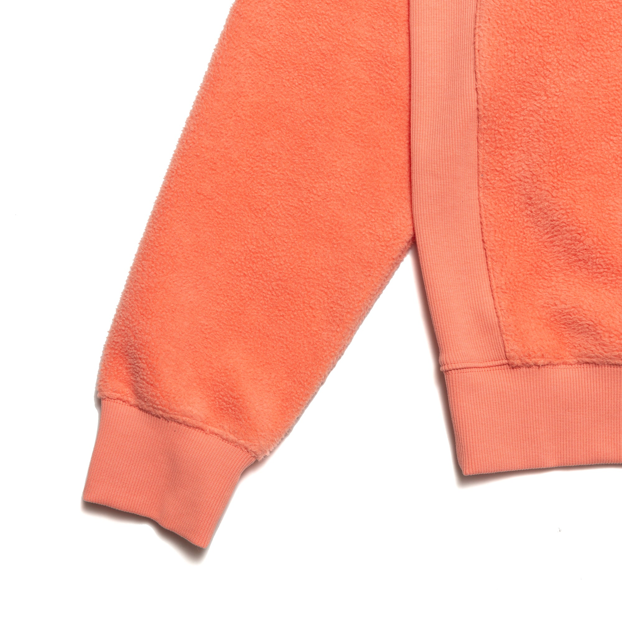 Load image into Gallery viewer, PRM Reversed Fleece Crewneck / Coral