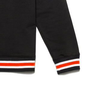 Varsity logo crewneck sweater_Black