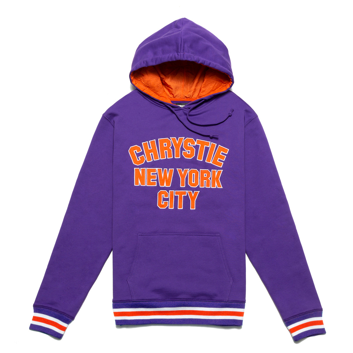 Load image into Gallery viewer, Varsity logo pullover sweater_Purple