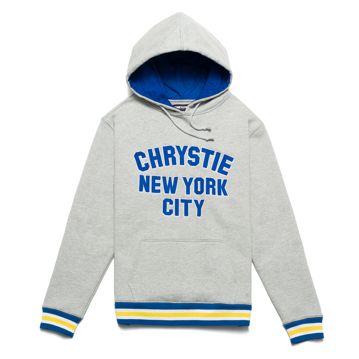Load image into Gallery viewer, Varsity logo pullover sweater_Ash Grey