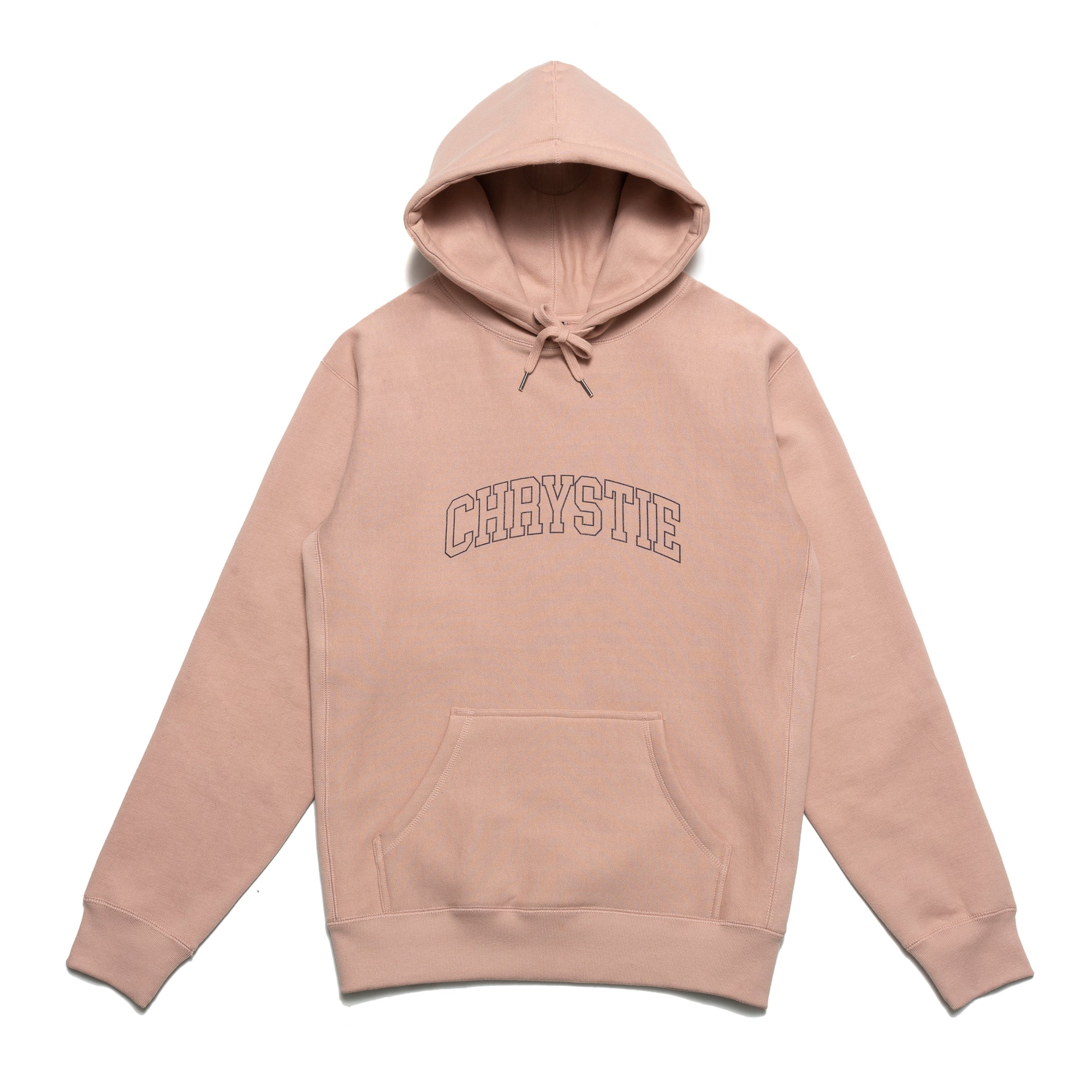 Load image into Gallery viewer, Collegiate Logo Pullover Hoodie_Dust Pink