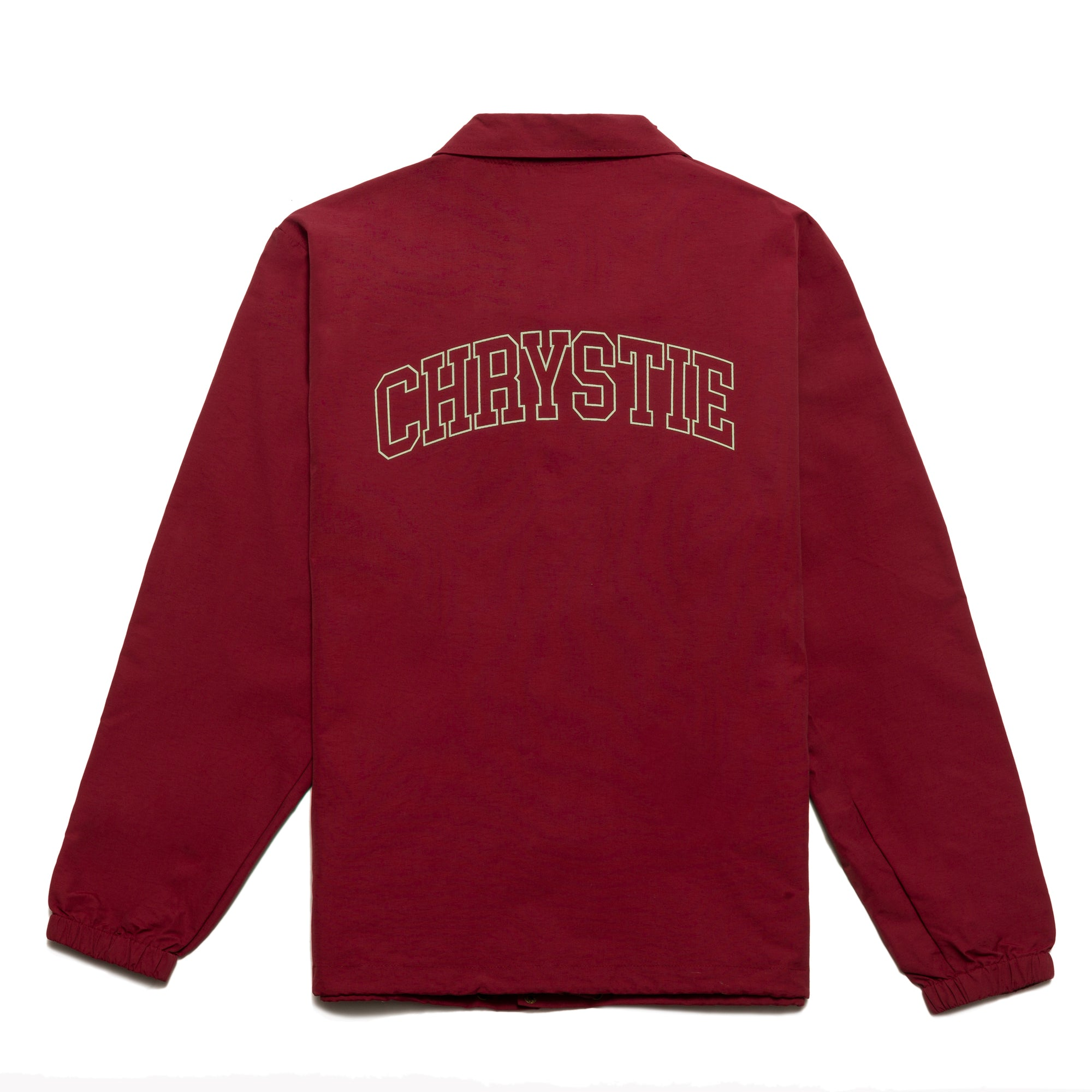 Load image into Gallery viewer, Collegiate Logo Coach Jacket_Burgundy