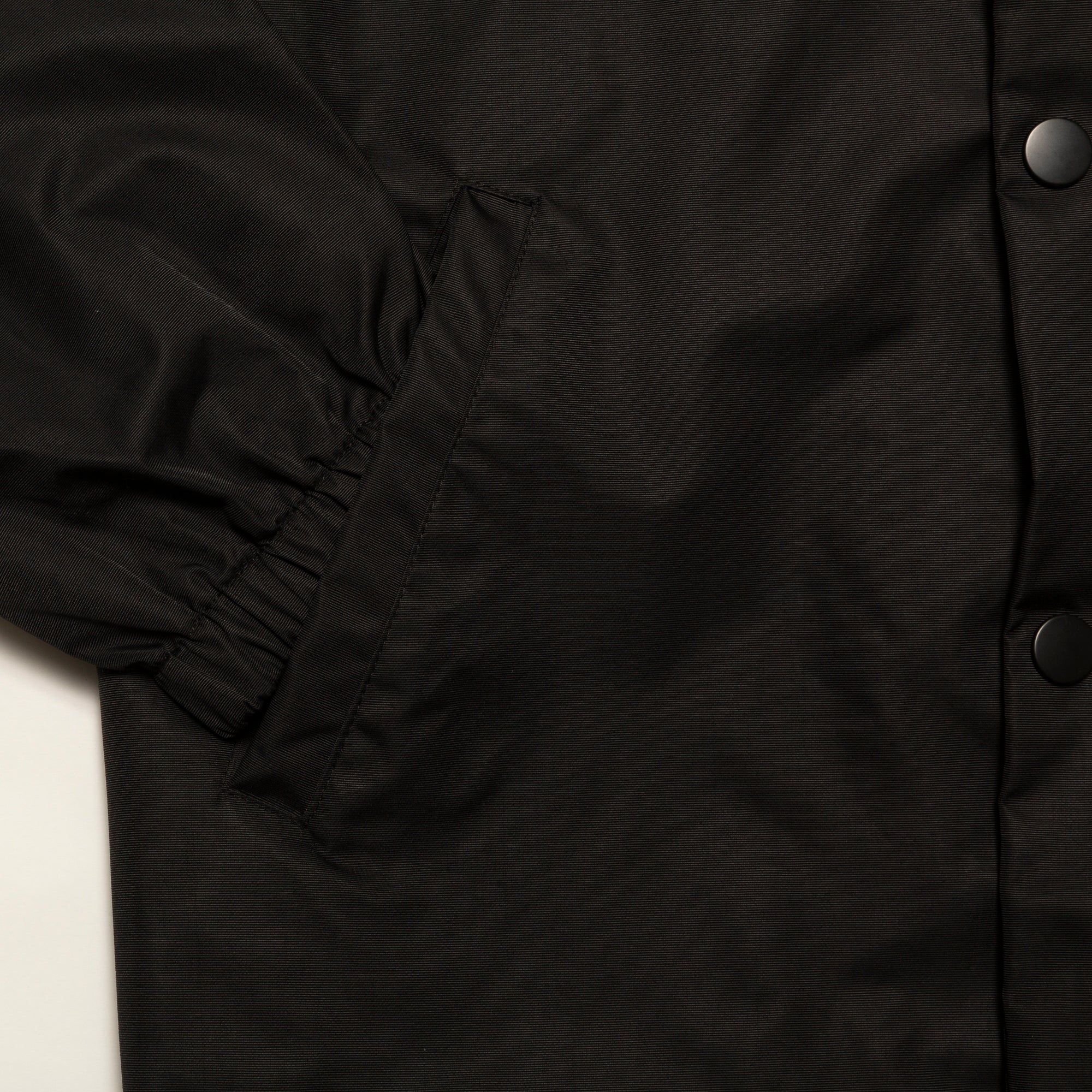 Load image into Gallery viewer, Collegiate Logo Coach Jacket_Black