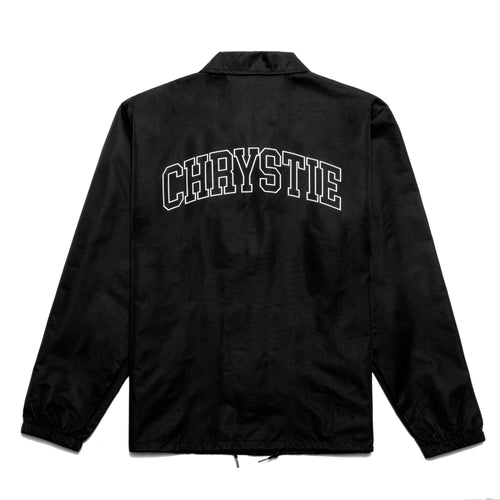 Collegiate Logo Coach Jacket_Black