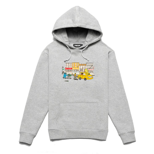 Chrystie Monster pullover sweater / Ash Grey