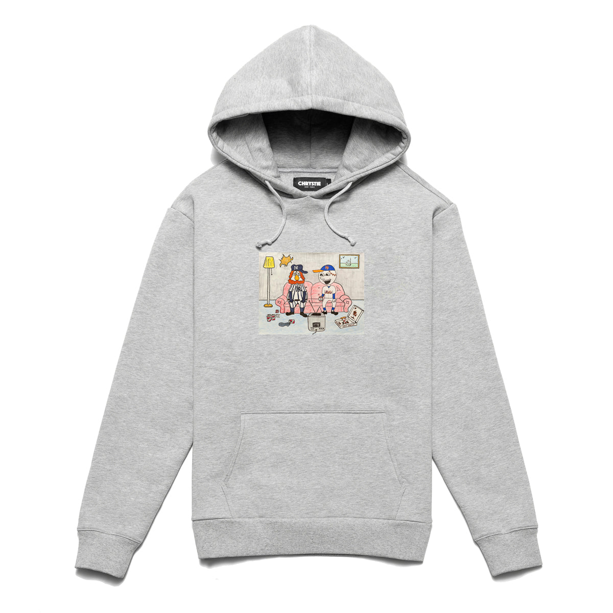 Load image into Gallery viewer, NY KIDS pullover sweater / Ash Grey