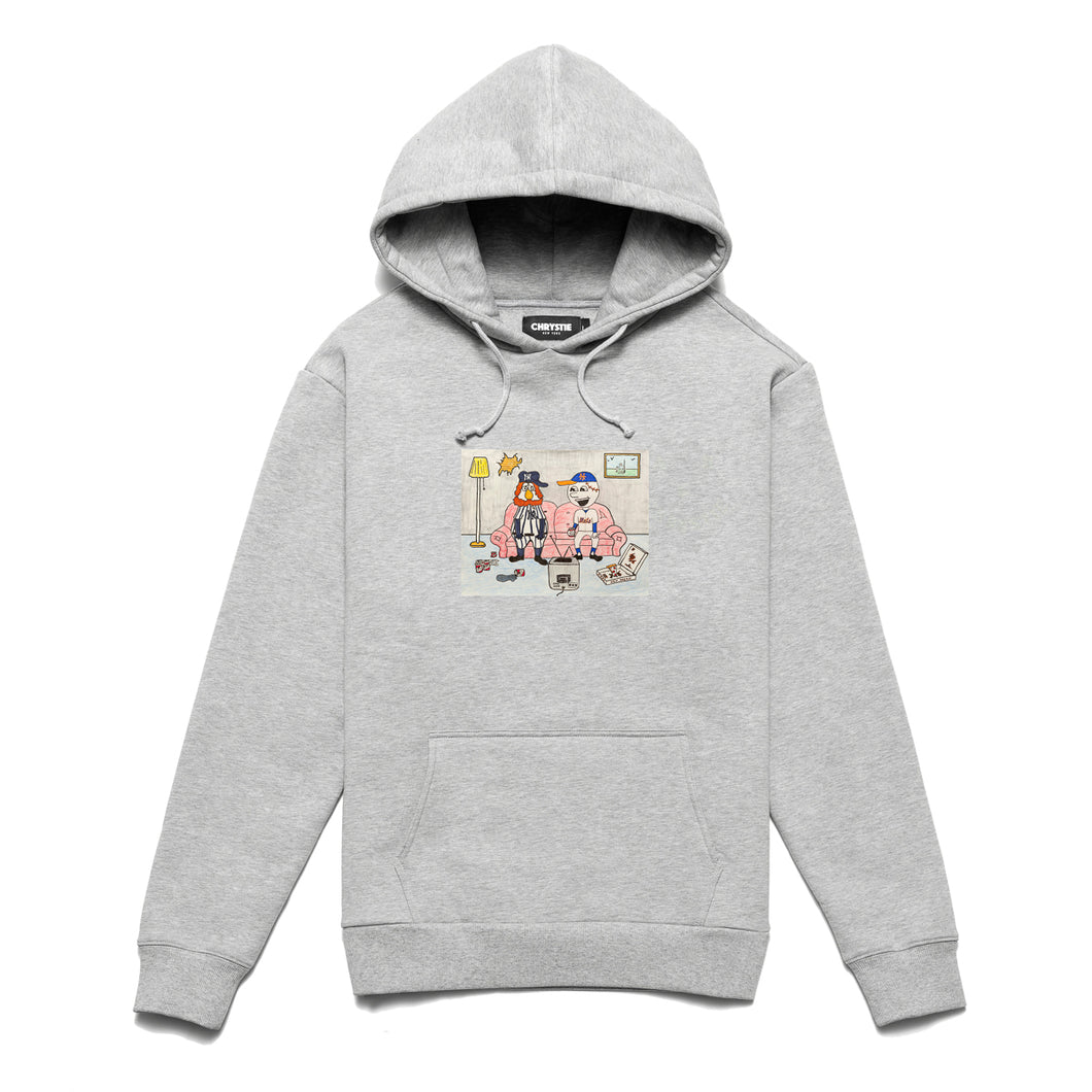NY KIDS pullover sweater / Ash Grey