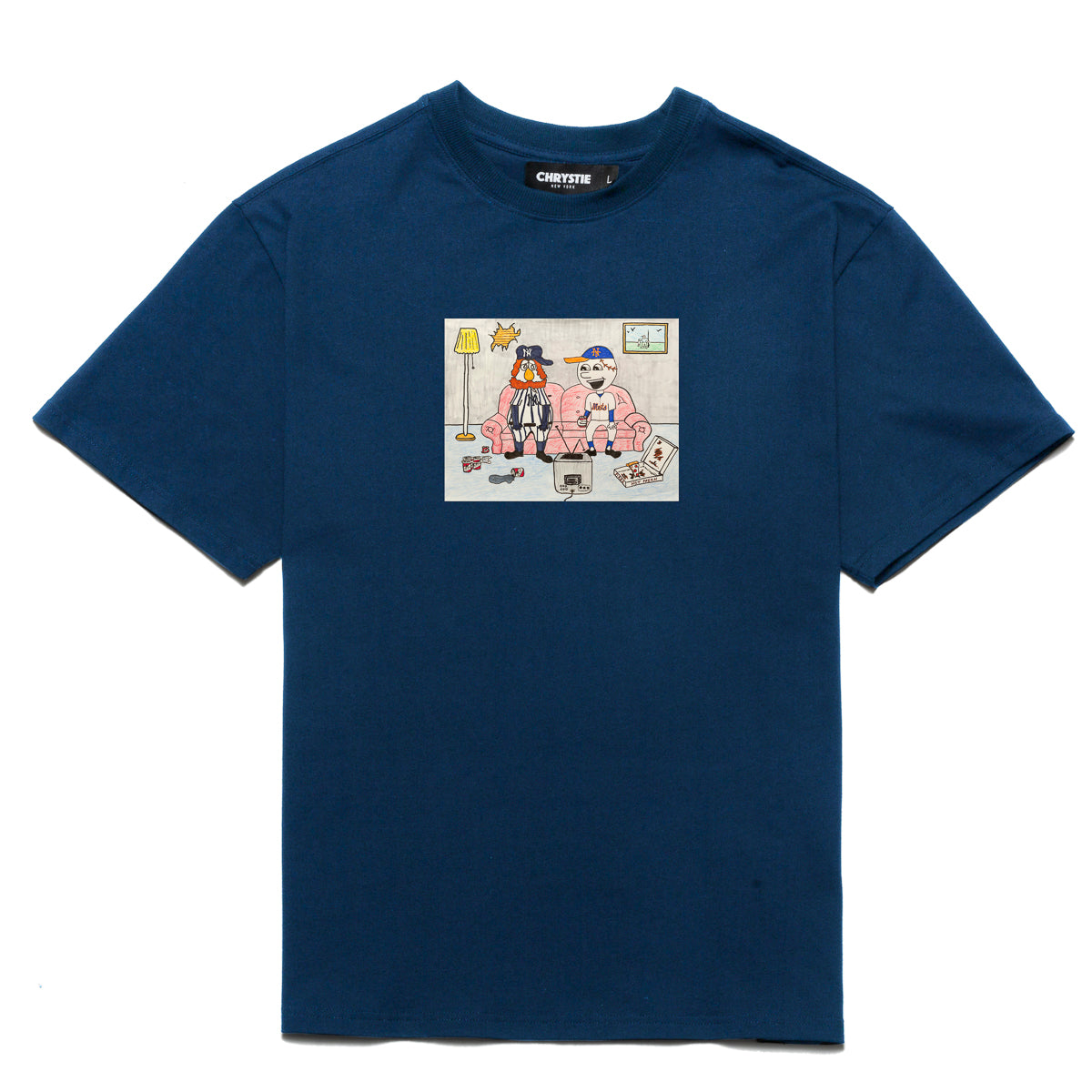 Load image into Gallery viewer, NY KIDS T-Shirt / Navy