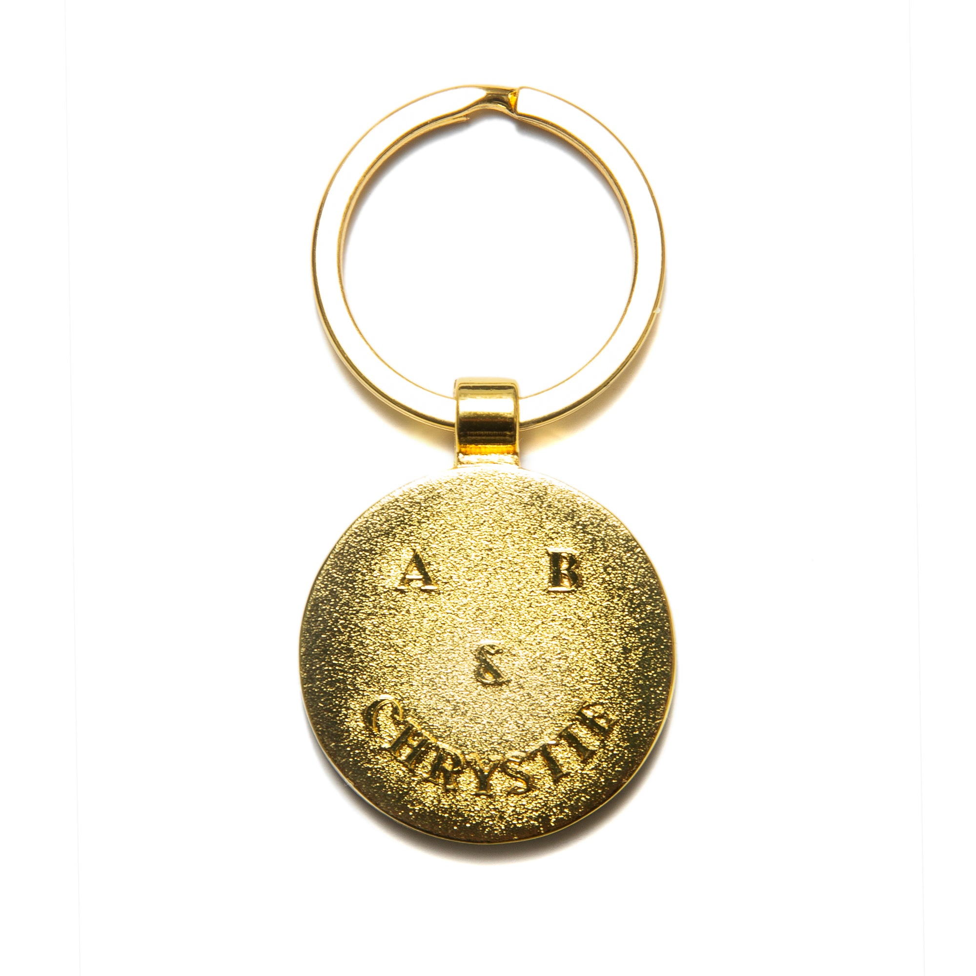 Load image into Gallery viewer, A&B Chrystie smile logo key chain