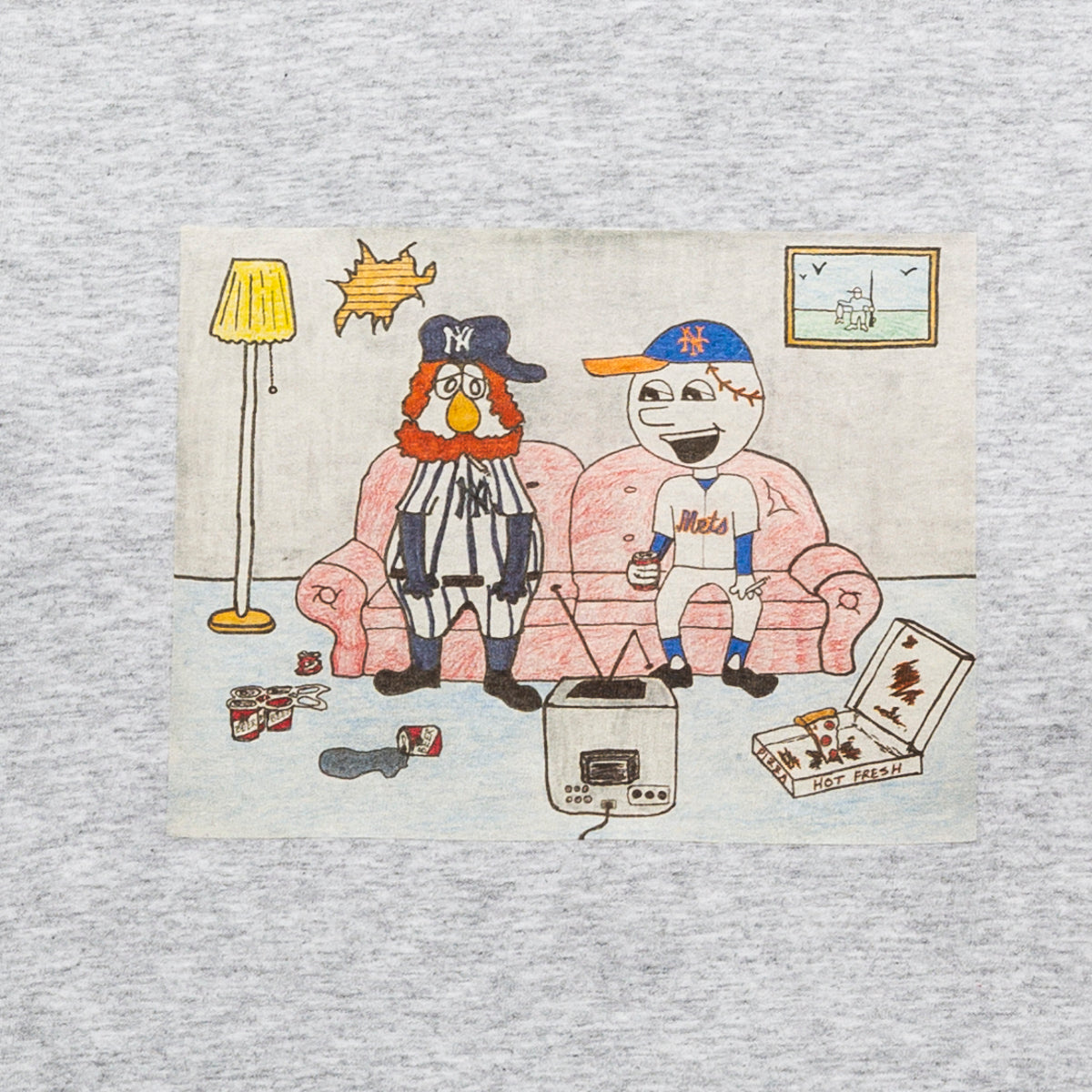 Load image into Gallery viewer, NY KIDS T-shirt / Ash Grey