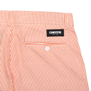 Stripe shorts_Orange