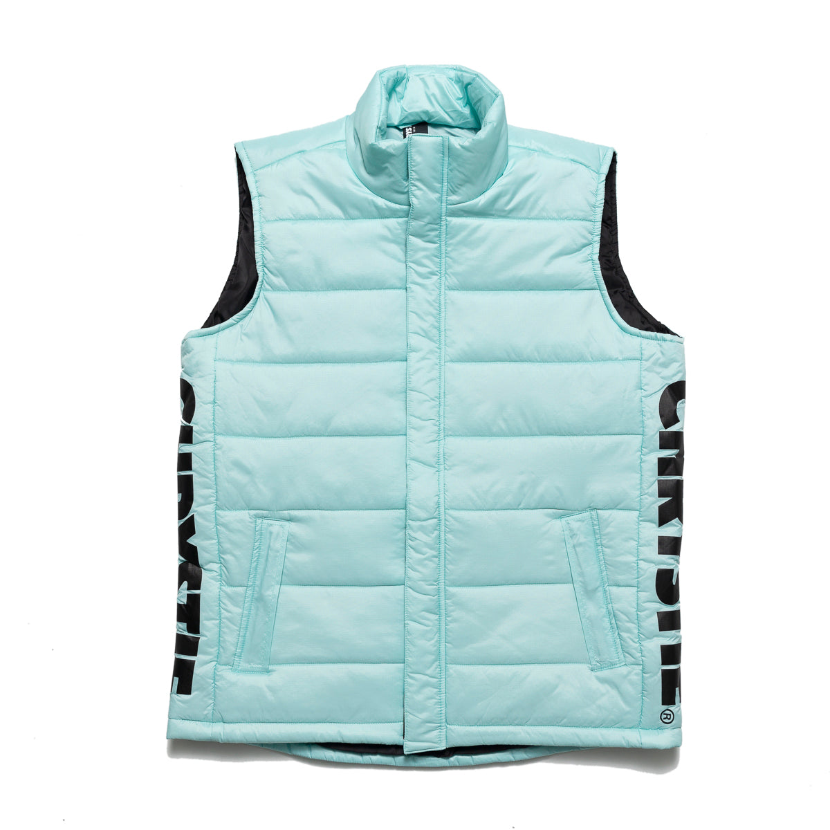 Load image into Gallery viewer, Chrystie OG Logo Puffer Vest_Light Blue