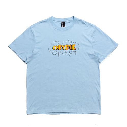 Ruscha logo T-shirts_Light Blue