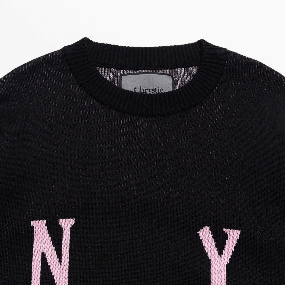 Load image into Gallery viewer, Smile Logo Knit Sweater_Black