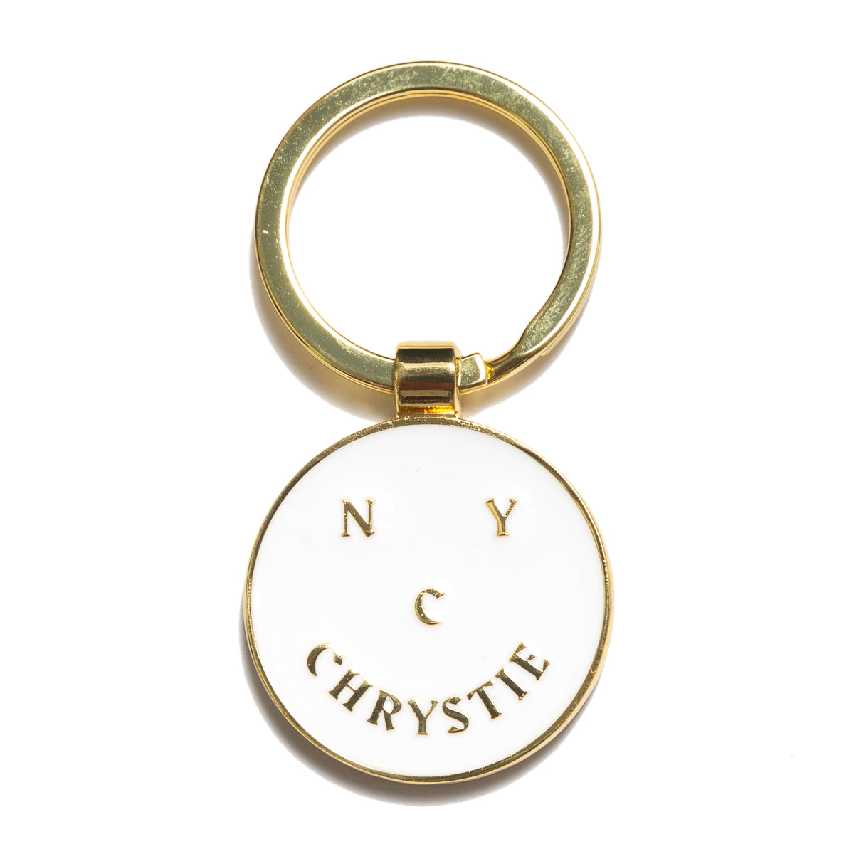 Load image into Gallery viewer, Chrystie Smile Logo Keychain