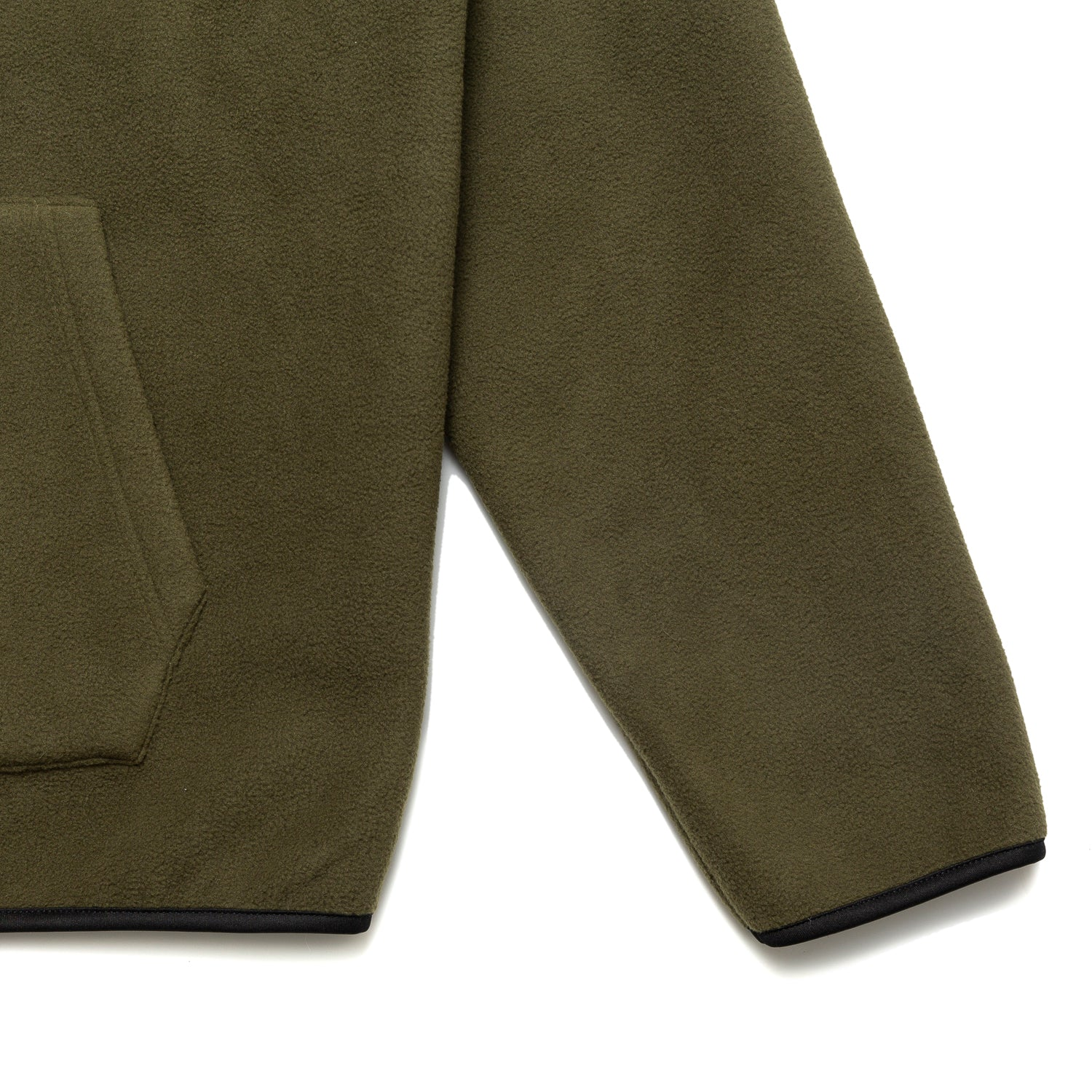 Load image into Gallery viewer, Chrystie OG Logo Polar Fleece Pullover Hoodie_Military Green