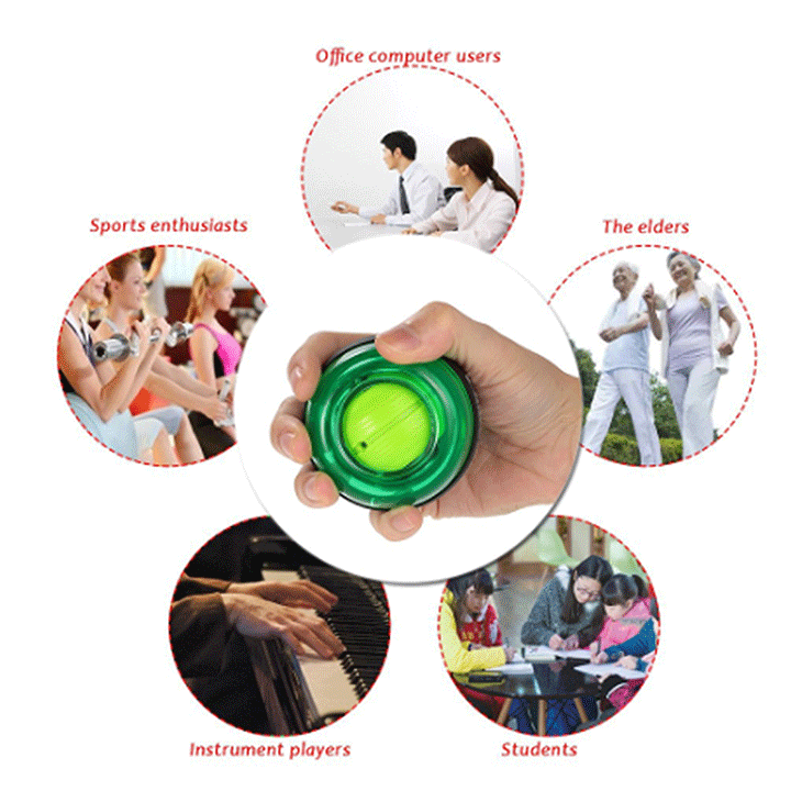 ThatsEasier™ Powerball Wrist & Arm Trainer