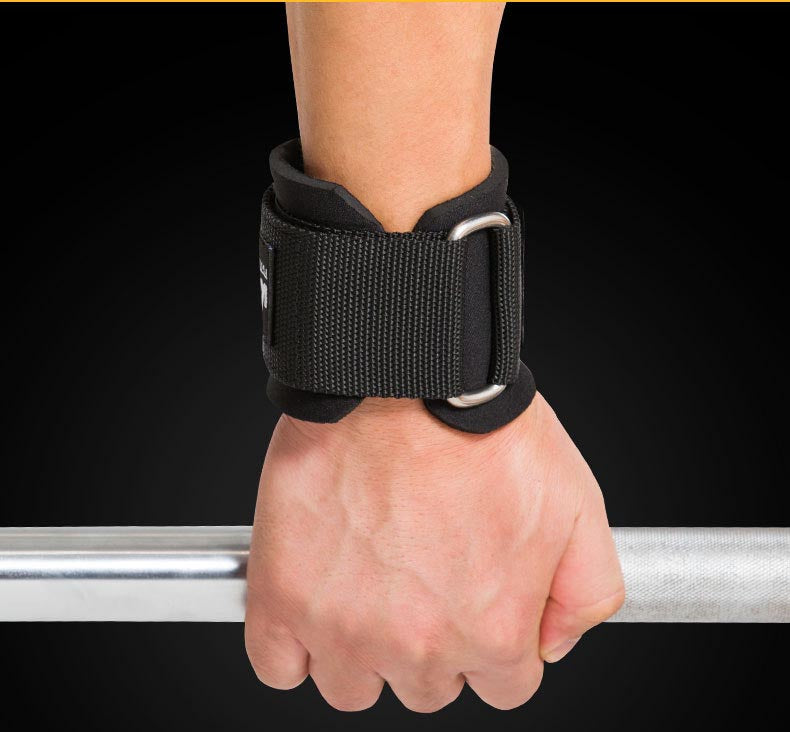 EASYLIFT™ WEIGHT LIFTING HOOKS GRIPS WITH WRIST WRAPS & STRAPS (PAIR)
