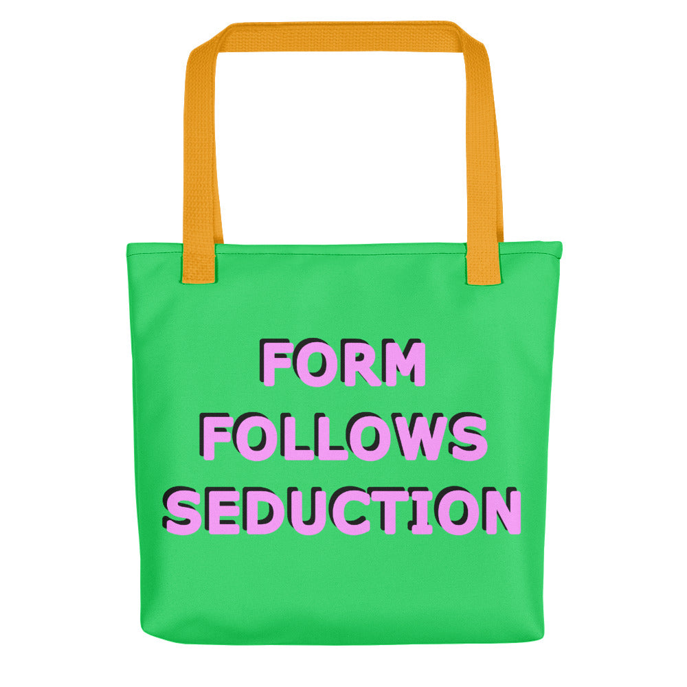 Form Follows Seduction Pink & Green