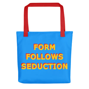 Form Follows Seduction Yellow & Blue