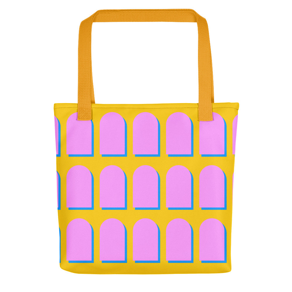 Pink & Yellow Tote-asseum