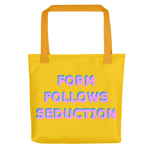 Form Follows Seduction Pink & Yellow