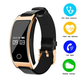 Be fashionable and be fit! Blood Pressure & Heart Rate Monitor Wrist Watch - Critical Muscle
