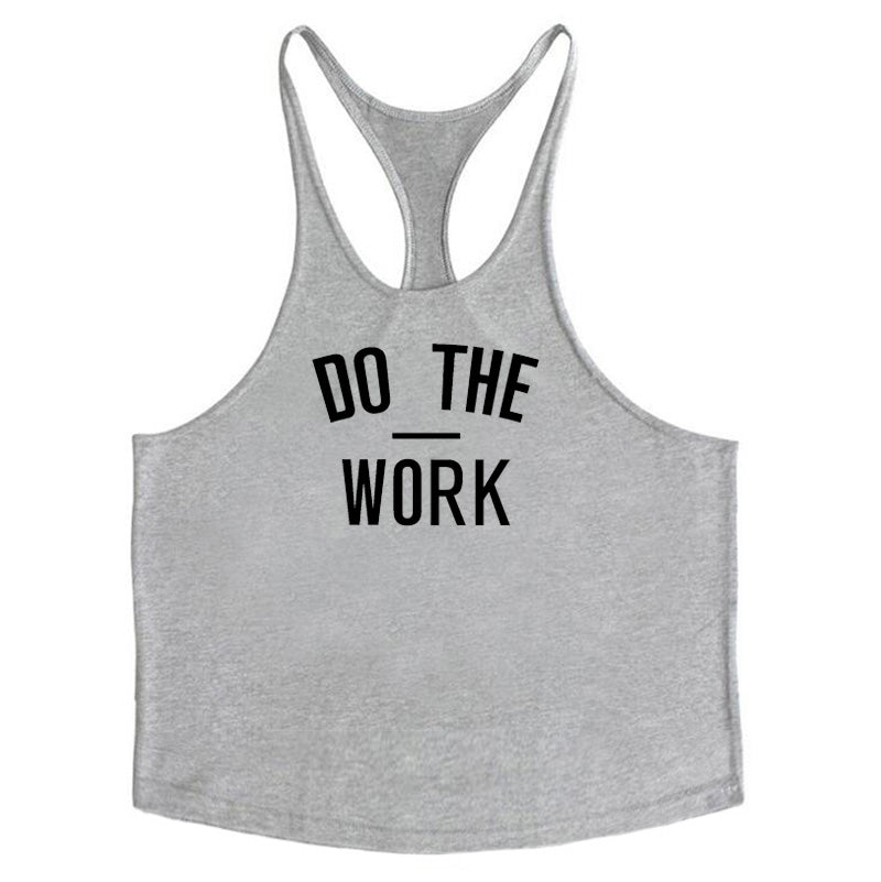 'DO THE WORK' Stringer Muscle Tank - Critical Muscle