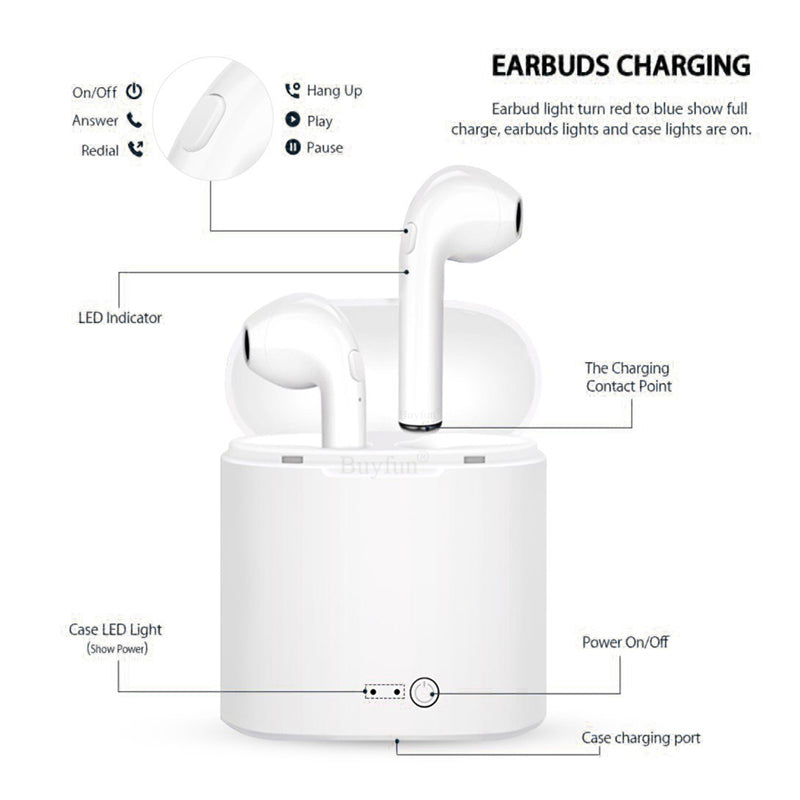 SoundPods - Wireless Earphones + Pod Charger - Critical Muscle