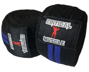 Critical Muscle - Knee Wraps