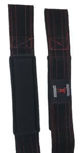 Critical Muscle - Genuine Suede Leather Lifting Straps