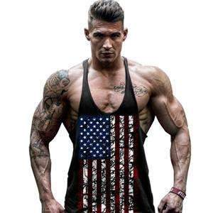 American National Flag Tank-top ,Tank top - Gym Beast Mode